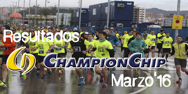Resultados Championchip Marzo 2016