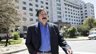 Está acusado de ser el autor intelectual del crimen de un senador en 1991, y en Argentina vive como refugiado.