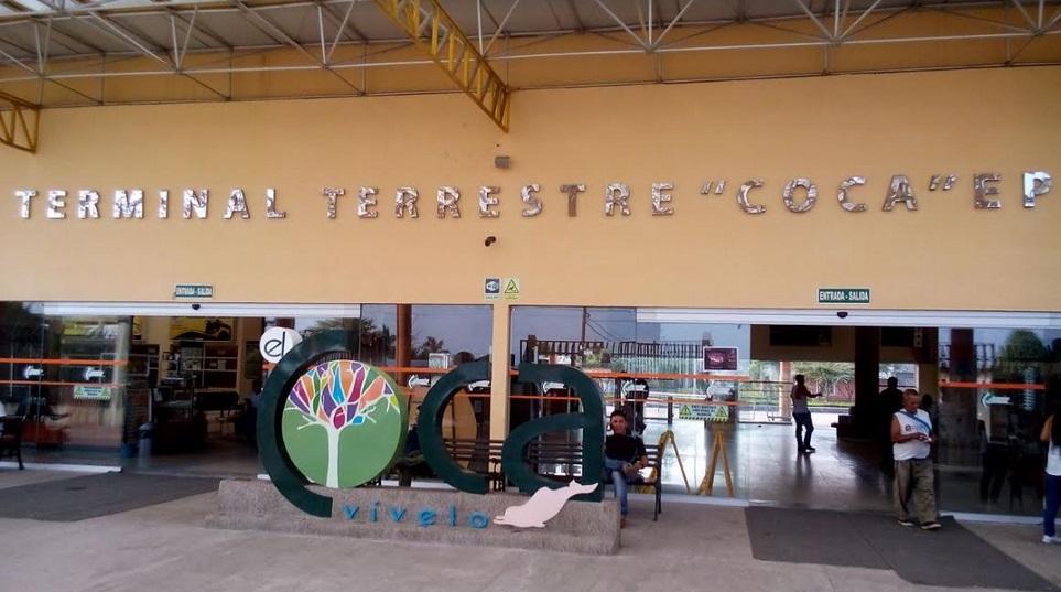 Terminal Terrestre El Coca Destinos y Frecuencias