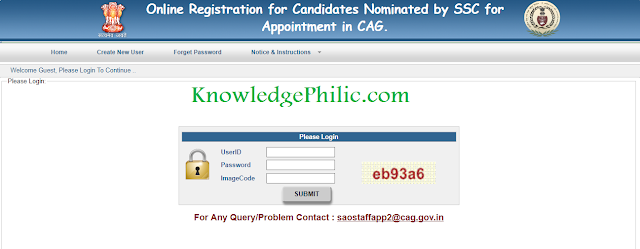SSC CHSL 2015 (DEO) State Choice Link Activated