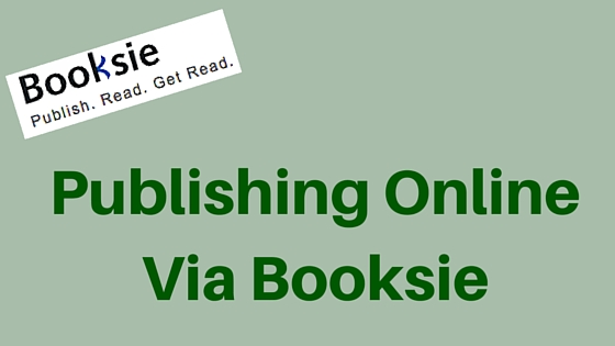 Publishing Online Via Booksie, guest post by Michael Sellings