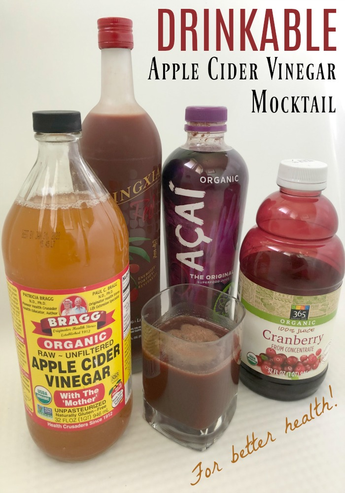 Apple cider vinegar has so many health benefits, but is so hard to drink. Make this drink that tastes great!