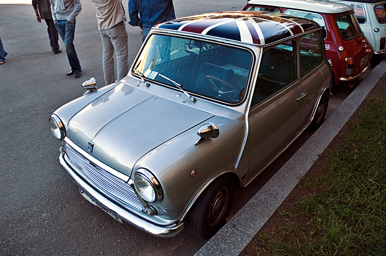 Classic Cars at Auto Retro Barcelona - mini
