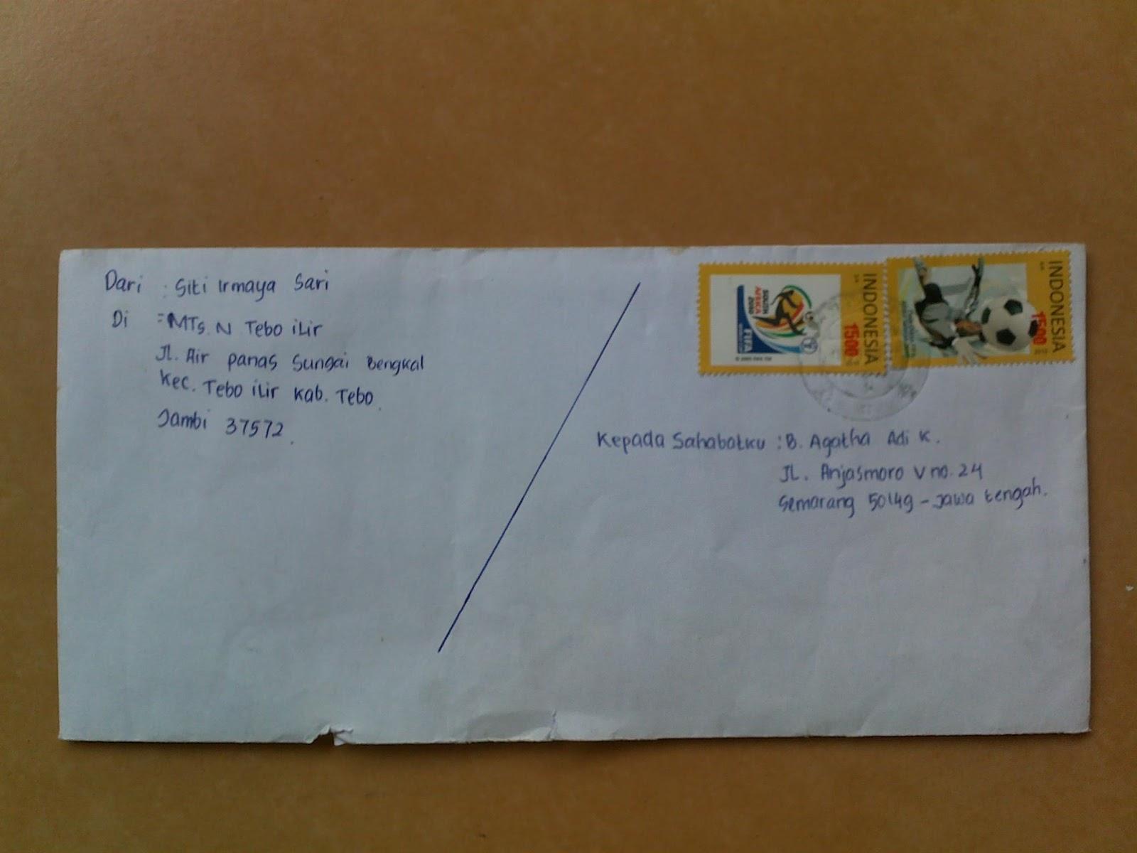 Contoh Surat Ke Sahabat Pena Contoh Surat