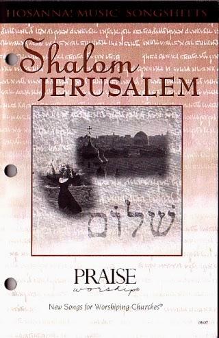 Paul Wilbur-Shalom Jerusalem-Songbook-