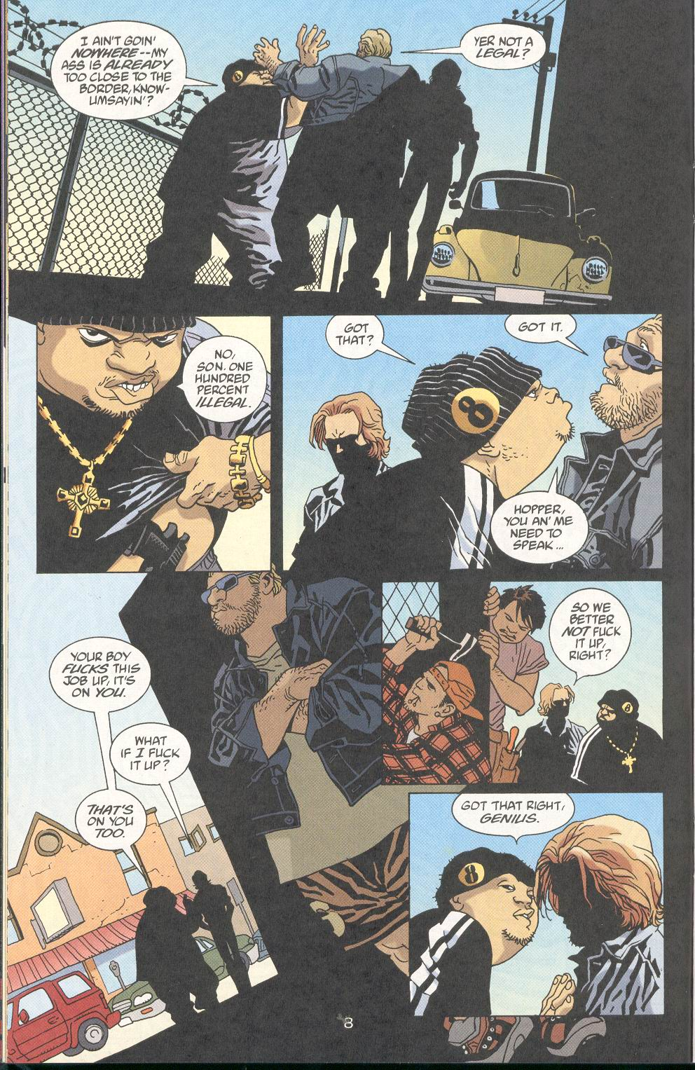 Read online 100 Bullets comic -  Issue #29 - 9