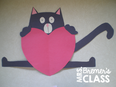 FREE Love, Splat literacy activities, perfect for Valentine's Day in the classroom! #freebies #kindergarten #1stgrade #valentinesday #splatthecat