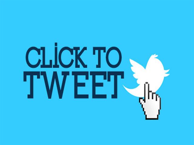 Como insertar un botón de Click para Twittear