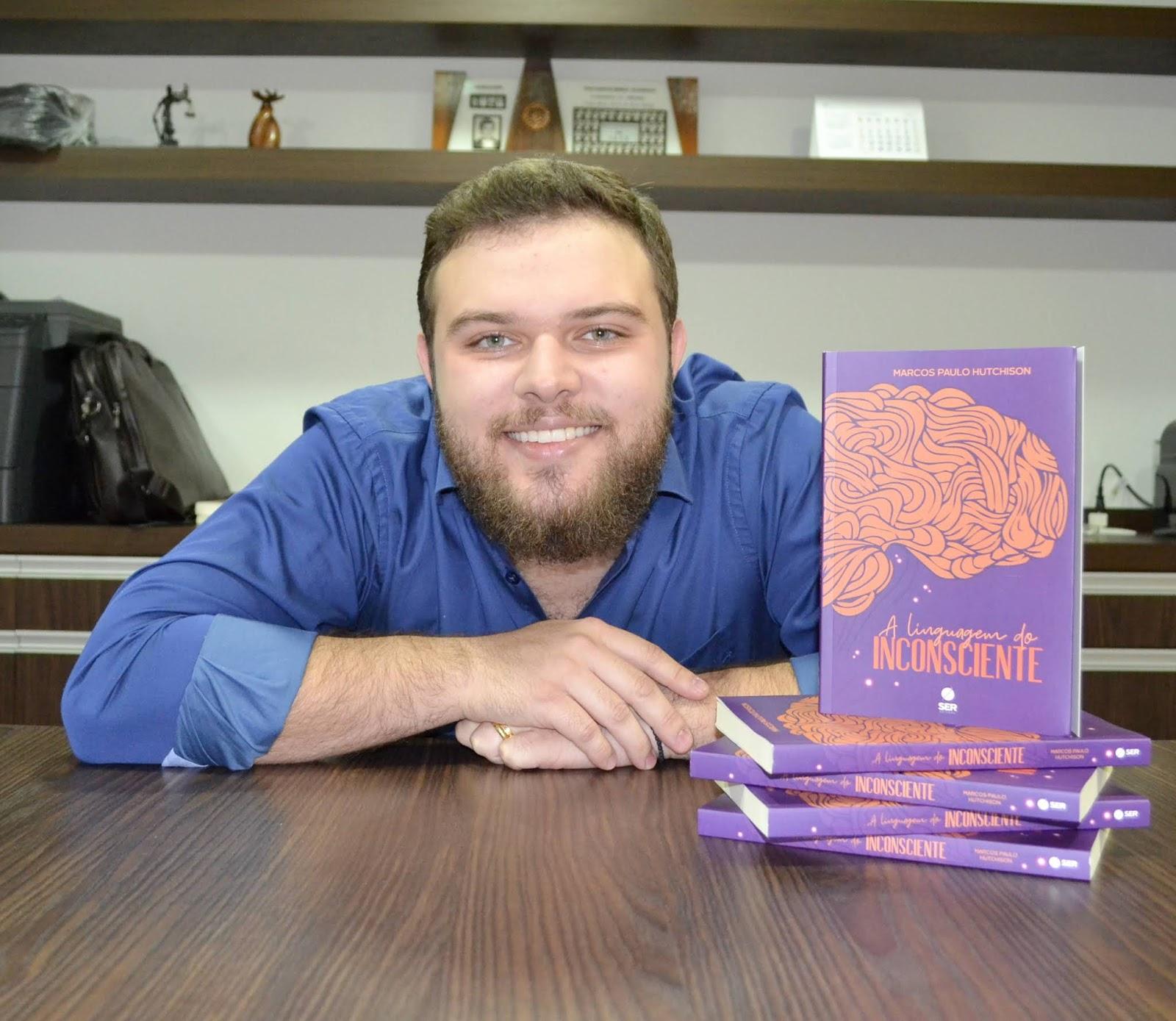 Especialista em hipnose Erickoniana, Marcos Paulo Hutchison lança livro sobre o inconsciente humano e ministra curso em Brasília