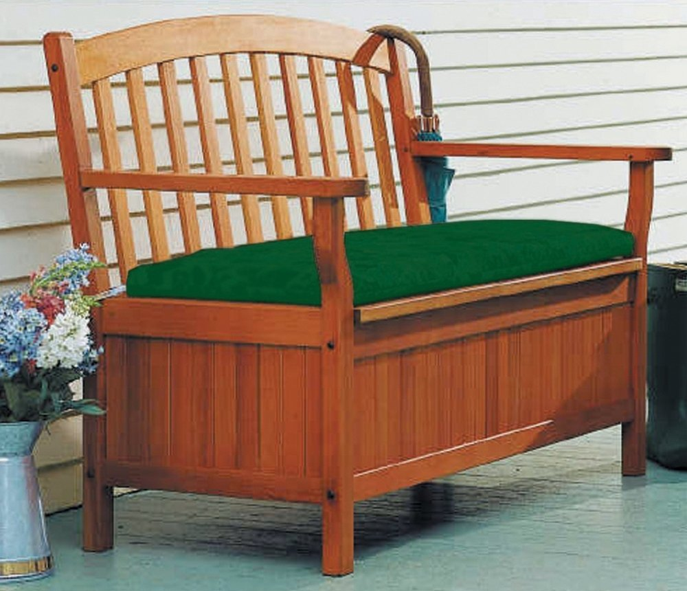 Patio Storage Bench Plans: Outdoor Wooden Storage Bench