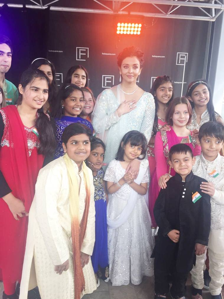 Aishwarya Rai along with her Daughter Spotted at Melbourne Festival