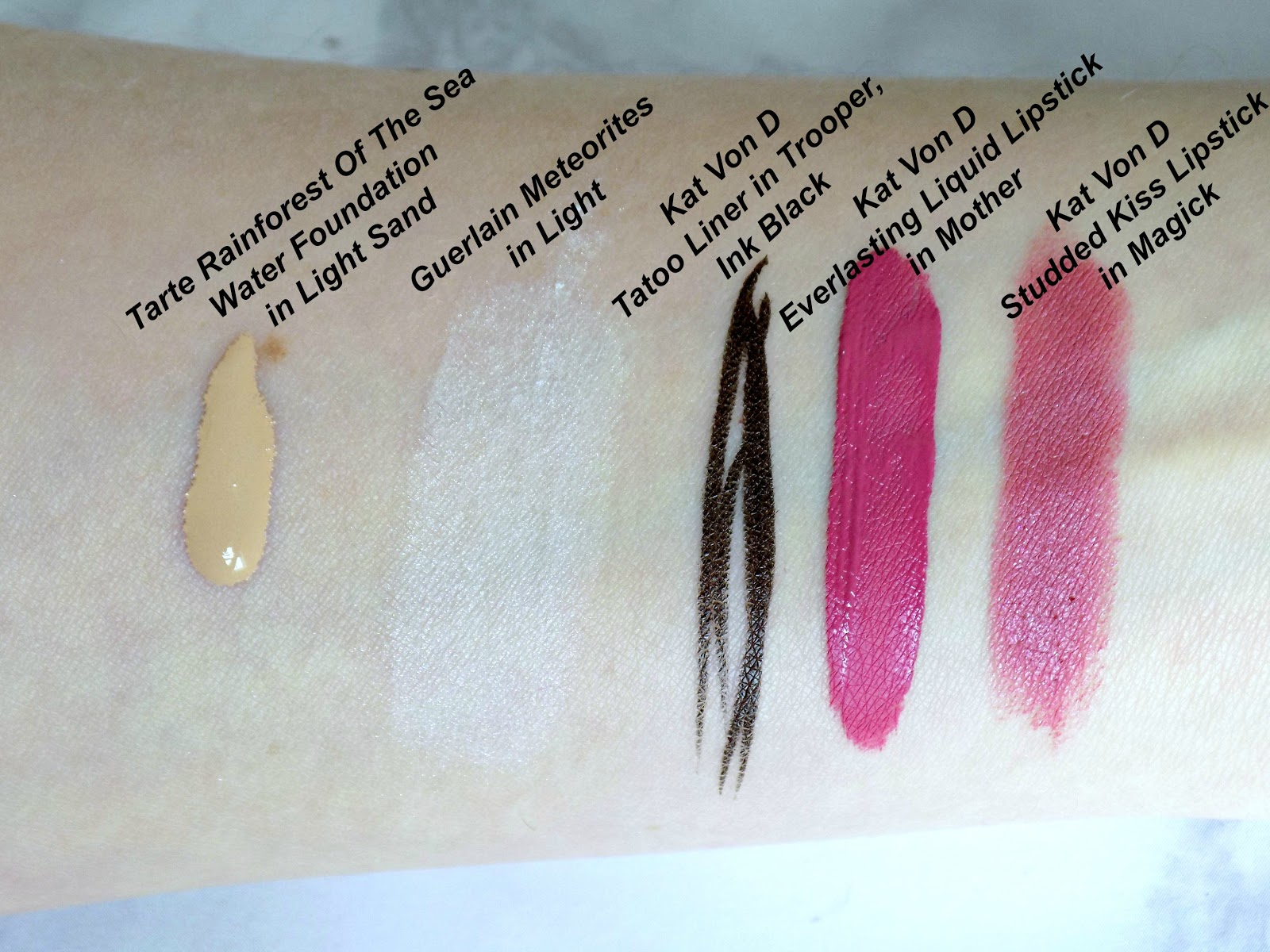Sephora makeup haul swatches