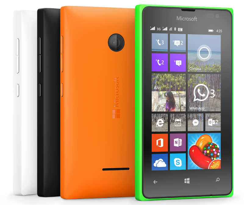 Lumia 435 Dual SIM specifications