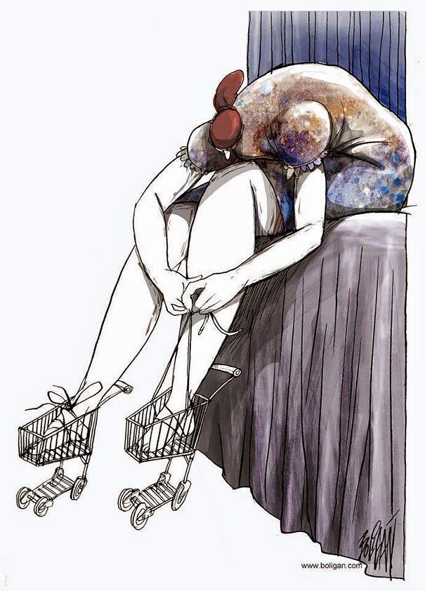 Angel Boligan - Sátira Surrealista | Consumismo