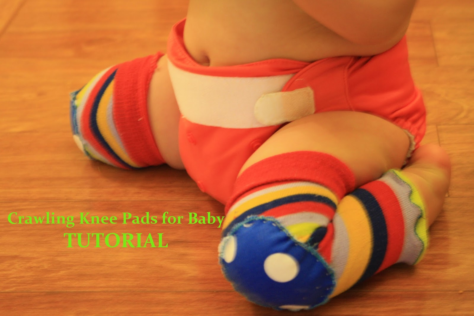 Olives And Pickles Crawling Knee Pads For Baby Tutorial
