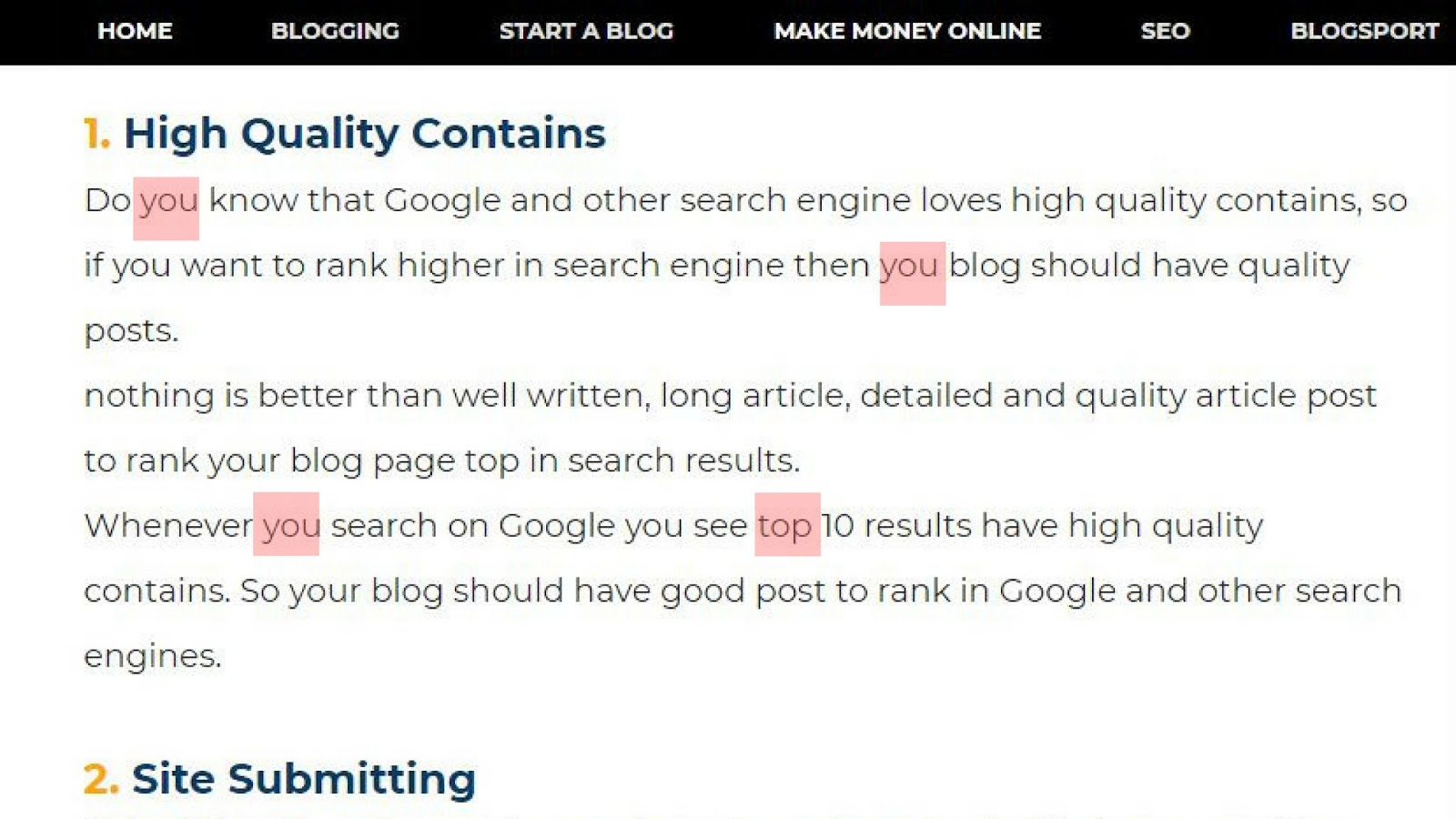how to write an amzing blog post