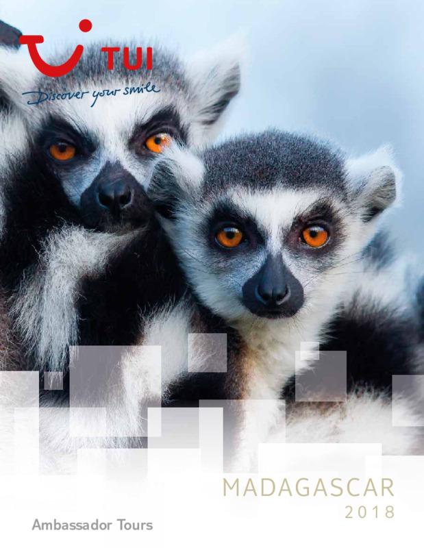 Catálogo TUI Ambassador Circuitos Madagascar 2018-19