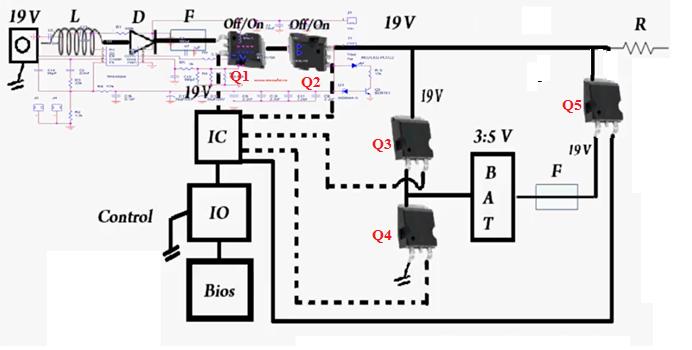 Simple Motherboard Schematic Diagram