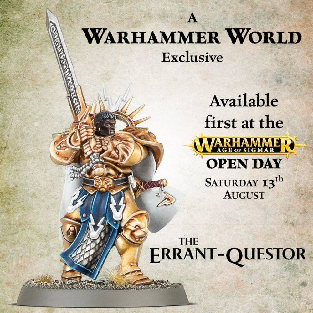 May The 4th Be With You Exclusives: Limited Edition Warhammer Models: Warhammer World Exclusives