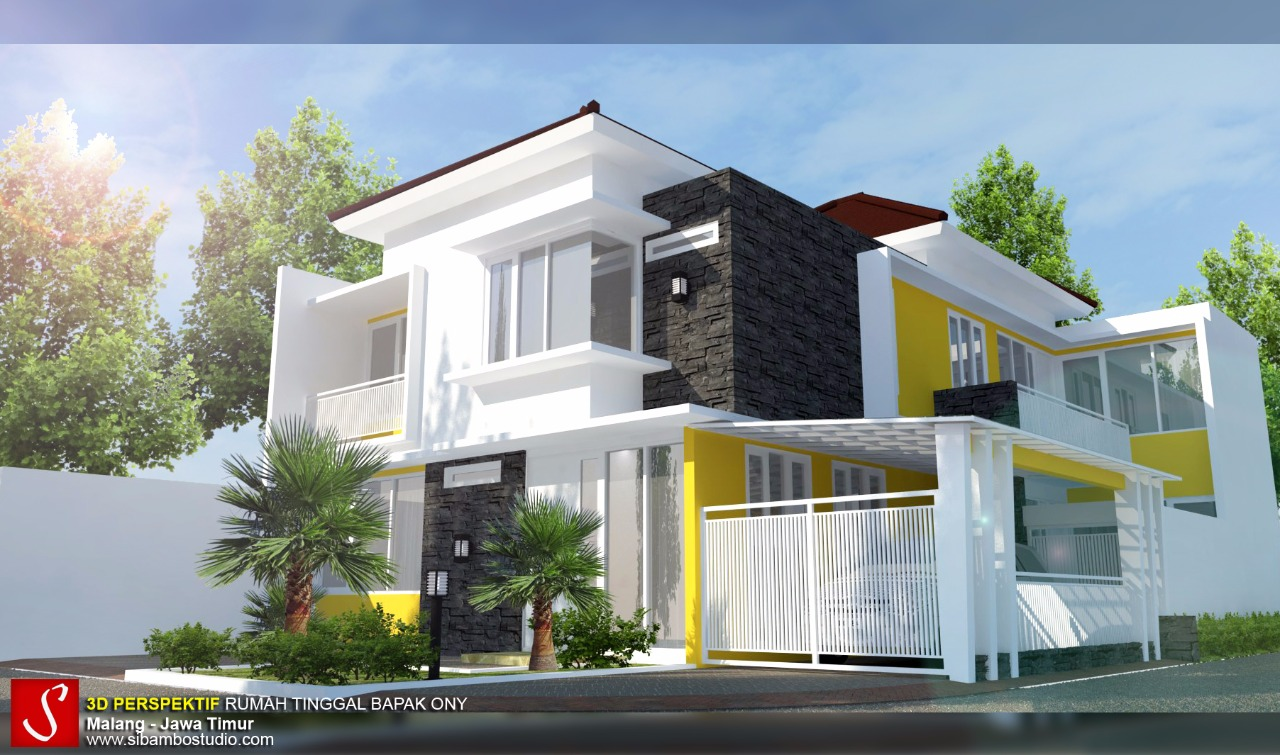 Desain Rumah Minimalis 2 Lantai Di Hook Gambar Desain Rumah Minimalis