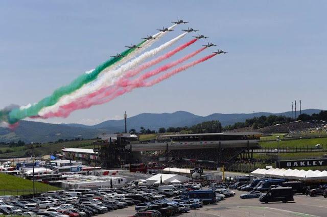 Frecce Tricolori Formula E Roma