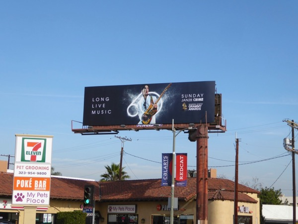 60th Grammy Awards Prince billboard