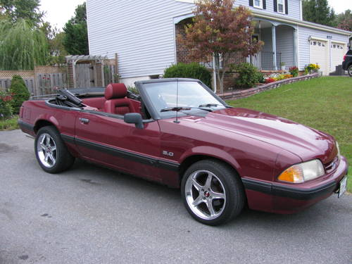 Ford Mustang 50L 1990 EECIV Engine Performance Wiring