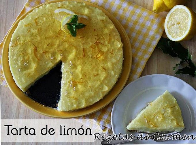 Tarta mousse de limón y 5 trucos para desmoldar correctamente