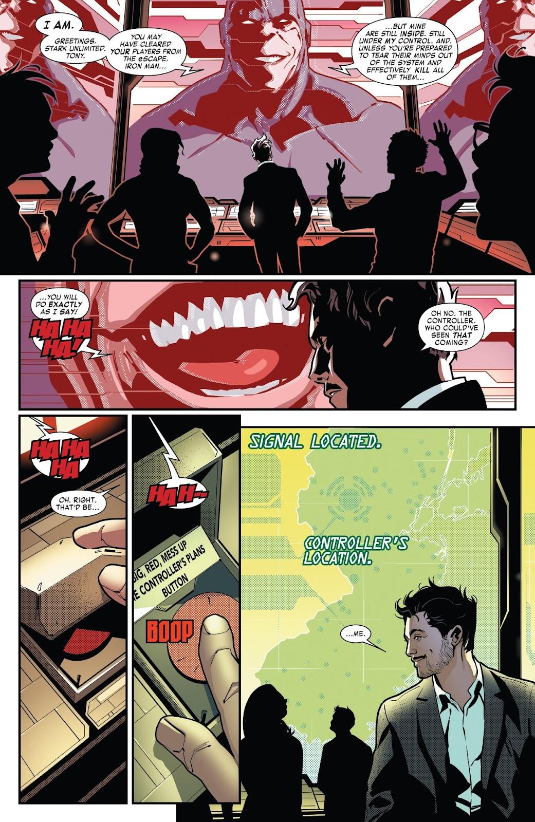 Read online Tony Stark: Iron Man comic -  Issue #7 - 13