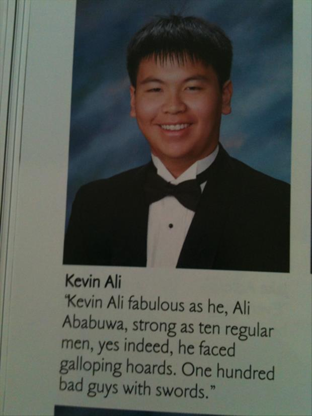 Crazy, Lazy, Silly and Strange: Yearbook Quotes...