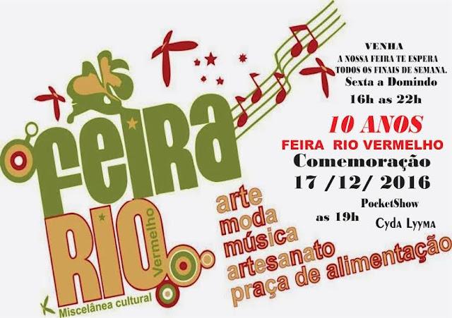 Feira do Rio Vermelho comemora 10 anos com festa no Largo de Santana