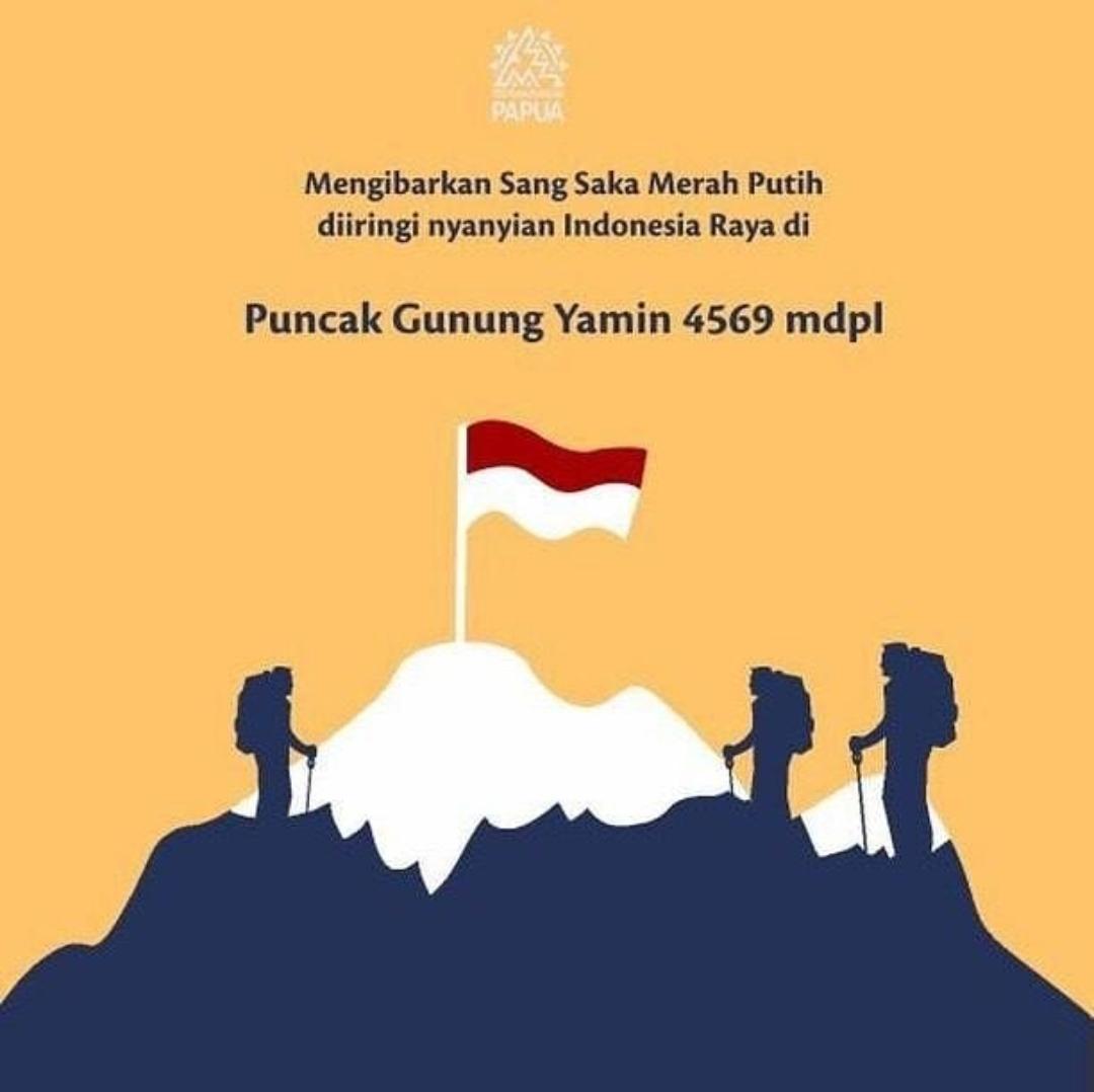 Travelplusindonesia Bravo Wanadri Sukses Gapai Puncak Yamin Papua