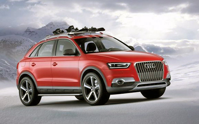 super cars blog audi q2 concept a small suv from germany. Black Bedroom Furniture Sets. Home Design Ideas