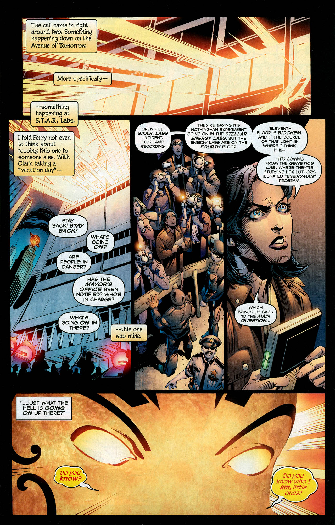Read online Trinity (2008) comic -  Issue #10 - 3