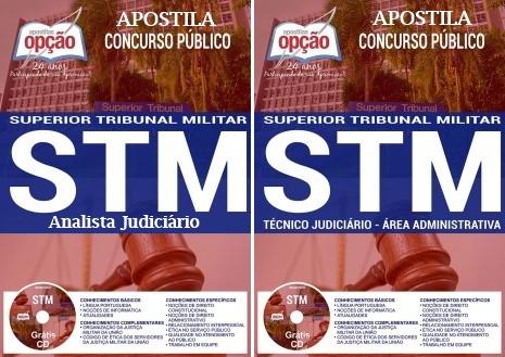 Apostila concurso do Superior Tribunal Militar (STM) 2018