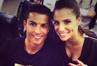 Foto Cristiano Ronaldo dengan Lucia Villalon