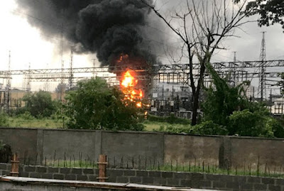Ikoyi In Darkness As Fire Guts Substation