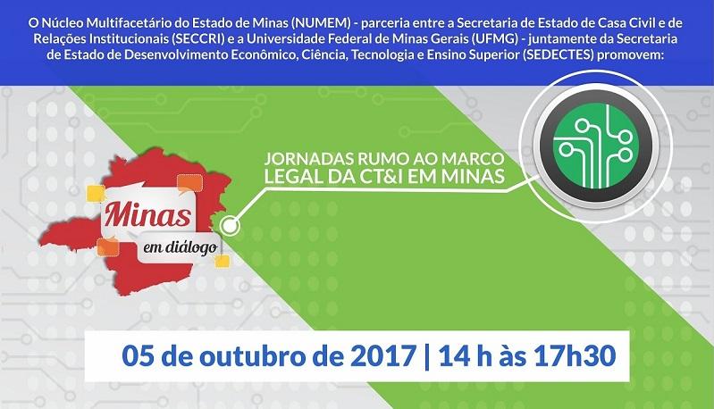 d2f539262 Os colóquios com especialistas em tecnologia para a elaboração do Marco  Legal de Ciência, Tecnologia e Inovação em Minas Gerais continuam na  próxima ...
