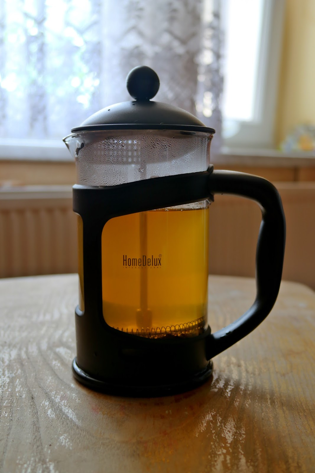 Zielona herbata po zaparzeniu