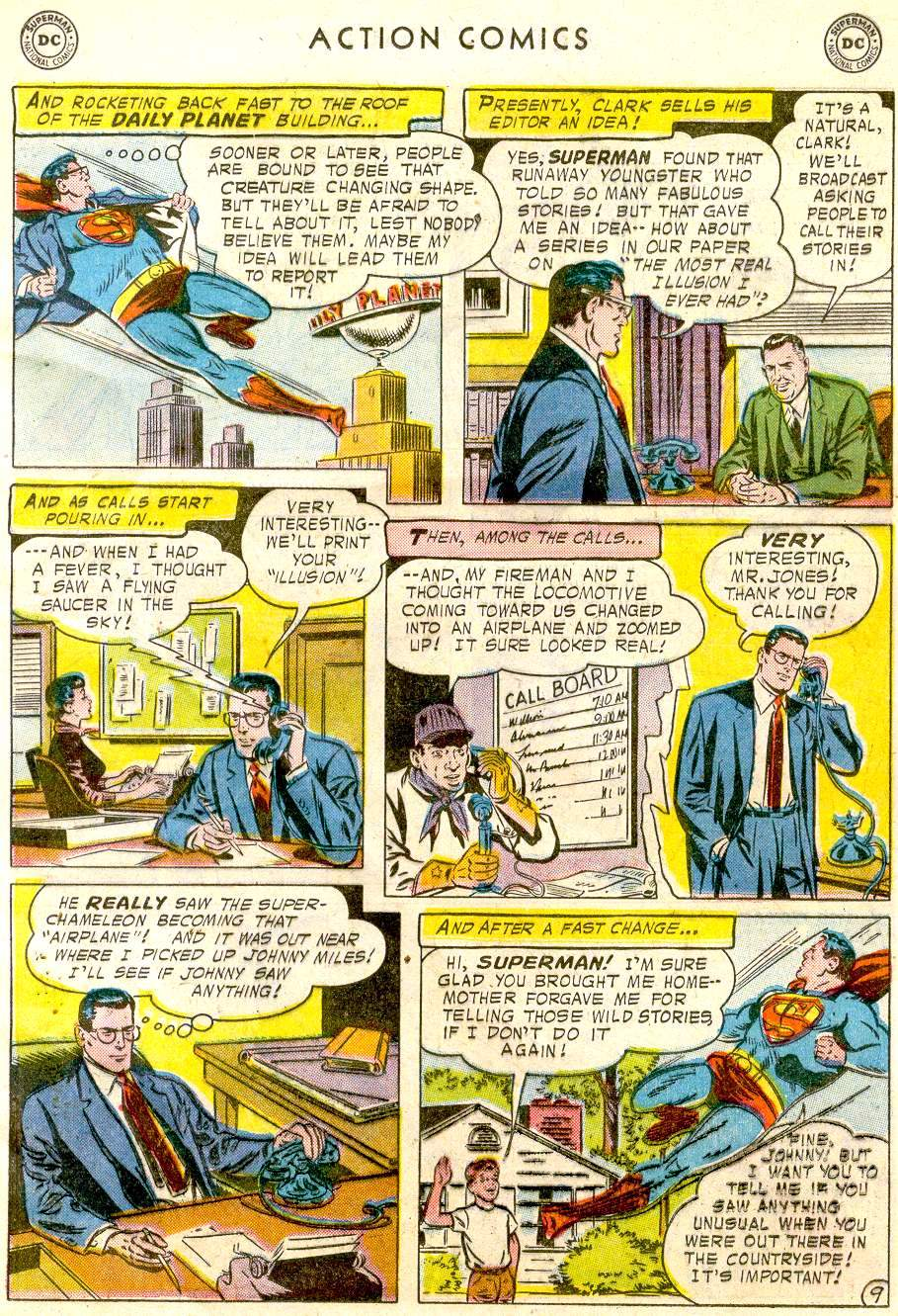 Read online Action Comics (1938) comic -  Issue #234 - 11
