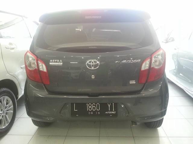Toyota Agya G tahun 2015 matic bekas