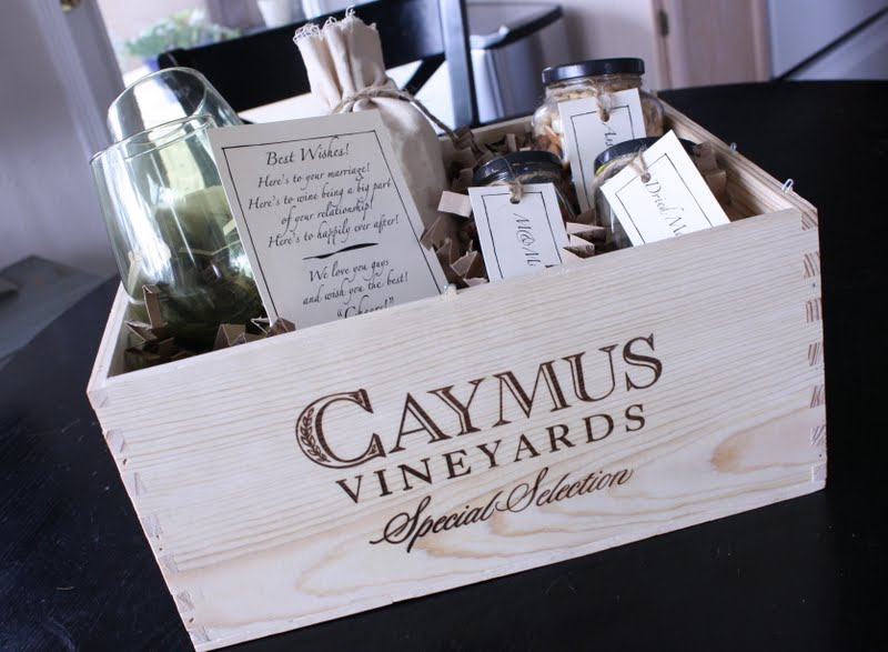 A Wine Wedding Gift