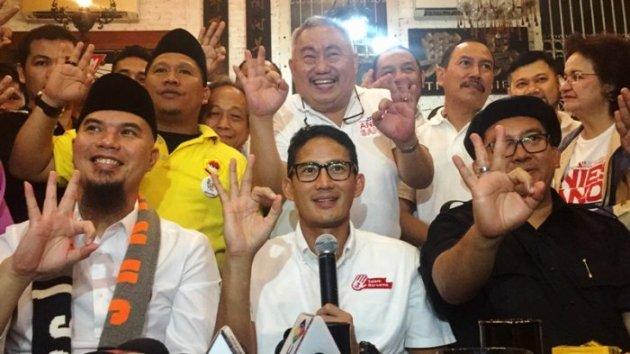Ahmad Dhani Ajak Warga DKI Dukung Anies-Sandi