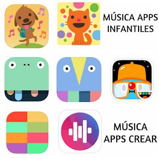 Recopilatorio mejores apps música infantiles aplicaciones música