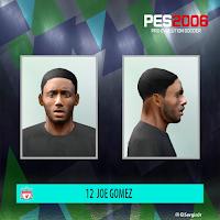 PES 6 Faces Joe Gomez by El SergioJr