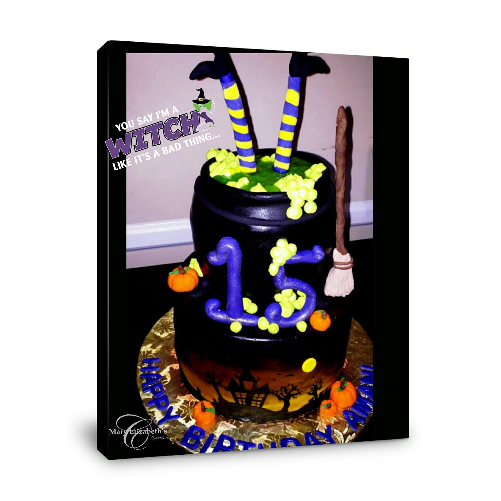 Sensational Mary Elizabeths Creations Halloween Themed Cake 4 Birthday Cake Funny Birthday Cards Online Fluifree Goldxyz