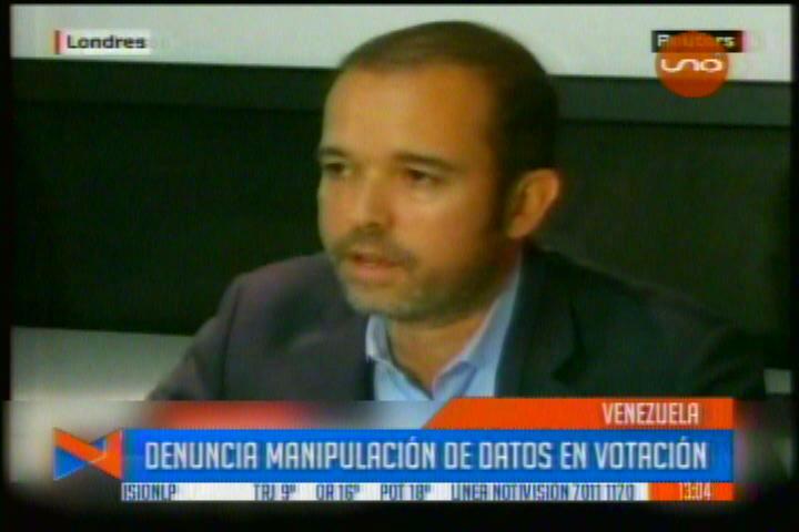 VENEZUELA: EMPRESA QUE HIZO CONTEO DE VOTOS DENUNCIA MANIPULACIÓN EN LA CONSTITUYENTE