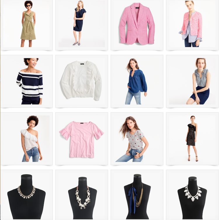 JCrew New Arrivals + 40% off!