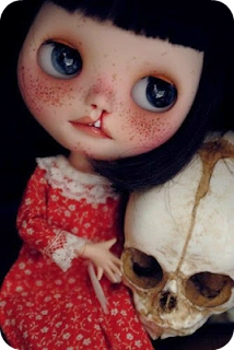 Amber Carr modified Blythe Doll