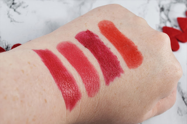 Max Factor Marilyn Monroe Colour Elixir Lipstick Swatches